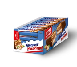 Knoppers NussRiegel Quiz Skill