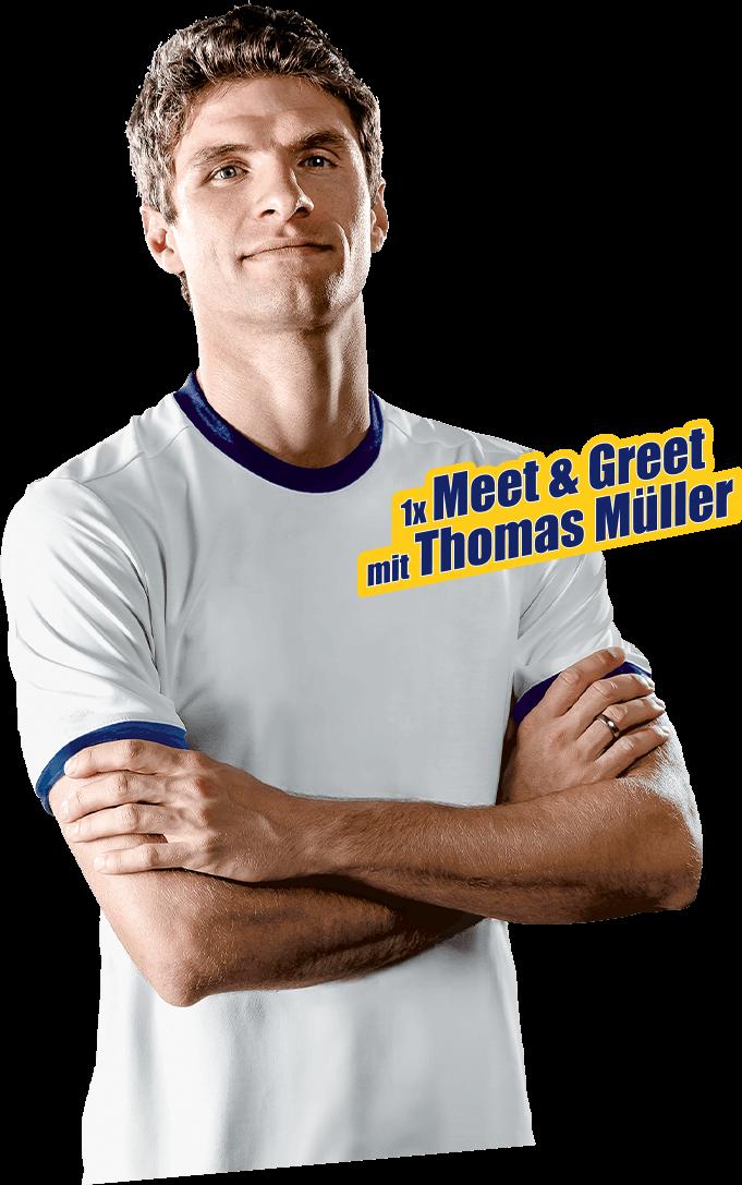 1 mal Meet & Greet mit Thomas Müller